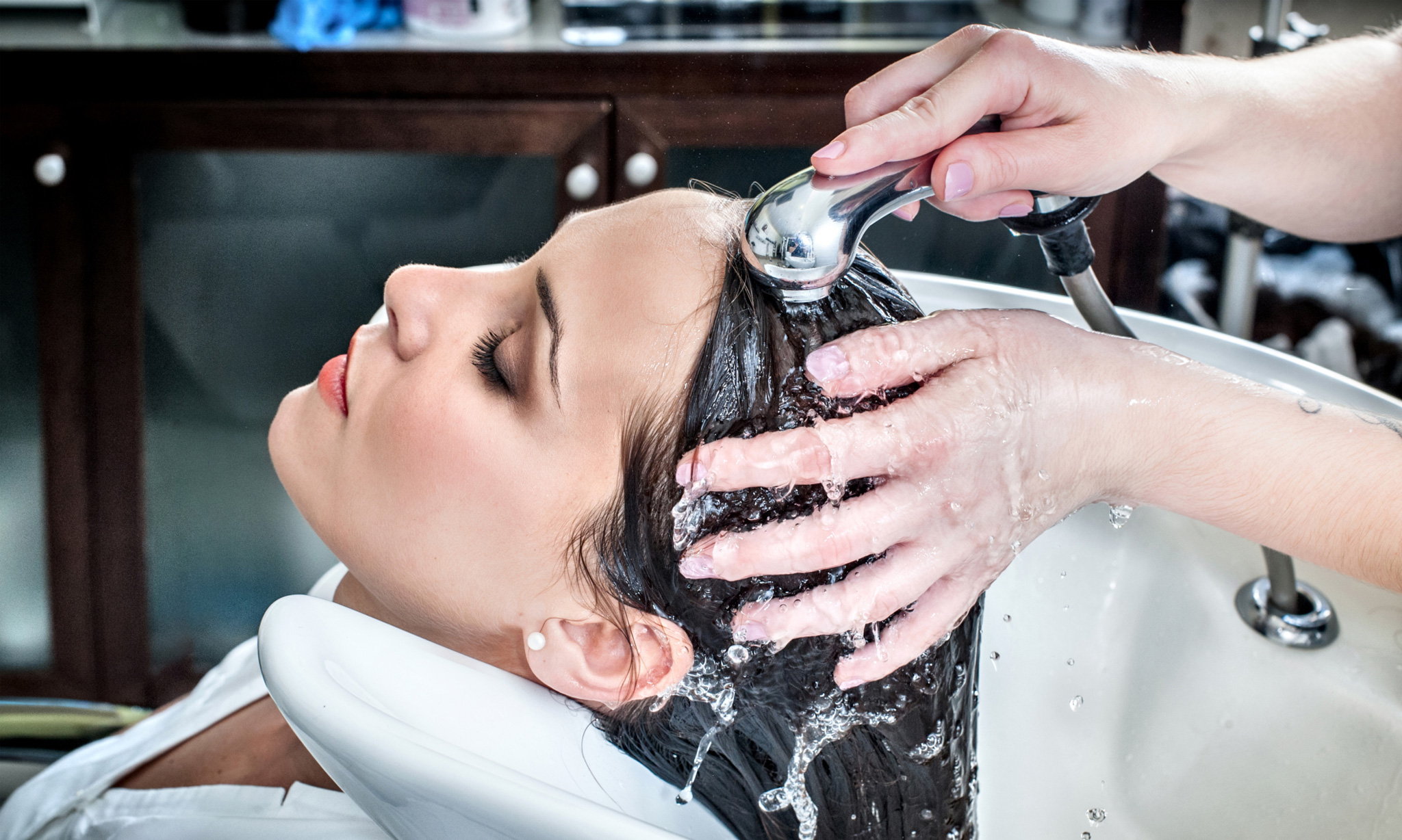 Beauty of a Person with Hair Salon Services